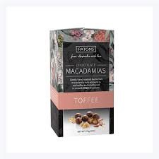 choc toffee ered macadamias patons