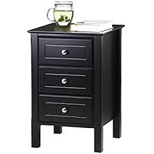 bedroom furniture black gloss. yaheetech black gloss 3 drawers bedside table cabinet stylish nightstands with silver handle bedroom furniture e