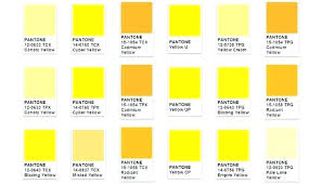 Shades Of Yellow Color Chart Stool Color Yellow Kriptosozluk Co
