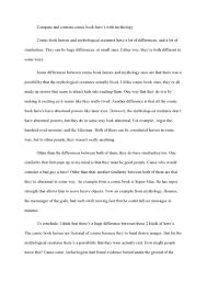 cover letter template for comparison and contrast essay compare cover letter cover letter template for comparison and contrast essay compare samplea comparison essay example