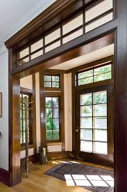 white interior doors with stained wood trim.  Doors Stain Trim White Trimstained Doors  In White Interior Doors With Stained Wood Trim