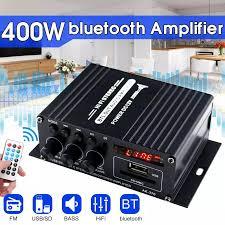 400W 2*200W Stereo Hifi Car Casa Subwoofer auto car audio Amplificatore Amp  Sound Speaker Digitale EDR amplificatori Audio HA CONDOTTO LA  Progettazione|Amplifier