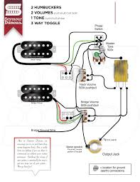 wiring diagrams for split humbuckers 1 volume tone wiring diy description humbucker wiring diagram one volume and hernes