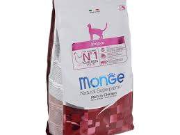 <b>Monge</b> Natural <b>Cat</b> Indoor Rich in Chicken - рейтинг, обзор <b>корма</b> ...