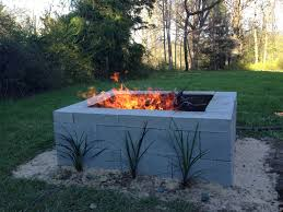 how to build an outdoor fireplace with cinder blocks awesome 15 outstanding cinder block fire pit