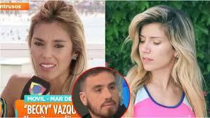 Becky Vázquez y el picante consejo que le dio Laurita Fernández ...