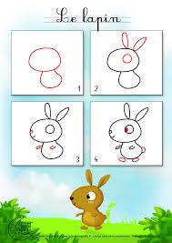 Apprendre Dessiner Lapin Jpg 1400 1980 Dessins Enfants
