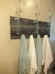 towel hanger ideas. Bathroom Towel Holder Ideas Rustic Rack Diy Room . Hanger T