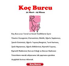 Koç Burcu yorumlar - Fal für Android - APK herunterladen