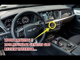 hyundai genesis interior. Delighful Hyundai 2018 Hyundai Genesis G80 Interior On E