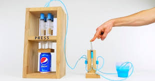 build the can crusher a mini version of a four post hydraulic press similar to those found in manufacturing and testing facilities around the world