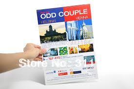 paper flyer leaflet brochure handbill fly sheet flyer printing with 157gsm