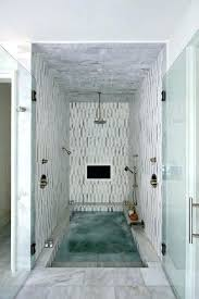 steam shower whirlpool bath combination tub with combo faucet cool walls glass door contemporary bathroom of