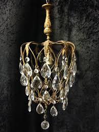 small antique italian pineapple chandelier