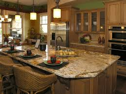 Of Beautiful Kitchen Visual Space Division With A Kitchen Island