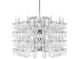 direct light handmade lead crystal chandelier crown by preciosa lighting