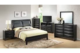image modern bedroom furniture sets mahogany. modern black painted oak wood full size bed frame which furnished with gray vinyl upholstered headboard image bedroom furniture sets mahogany c