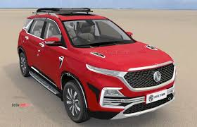 MG Hector accessories detailed via online car configurator