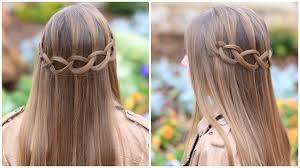 Hairstyle Waterfall how to create a loop waterfall braid cute girls hairstyles 1563 by stevesalt.us