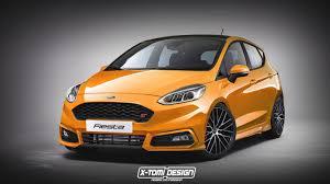 2018 Ford Fiesta ST Rendering: Sporty Yet Oddly Familiar ...