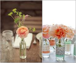 Simply placing one or two flowers in a plain glass bottle is hugely  effective when presenting