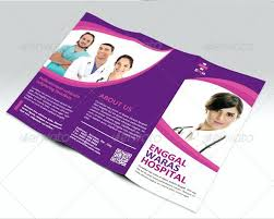 Medical Brochures Templates Enchanting Medical Brochure Design Hospital Templates Gocreatorco