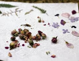 Flower Pressed Paper Handmade Paper With Pressed Flowers From Your Own Backyard