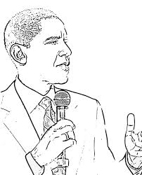 Small Picture President Obama Coloring Page PrintObamaPrintable Coloring Pages
