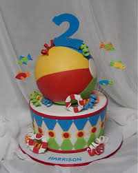 Beach Ball Cake Decorations Amazing Beach Ball Blowout Sugared Productions Blog