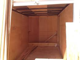 picture of portable cargo trailer work
