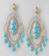 john hard batu dot morocco chandelier earrings turquoise courtesy of nieman marcus