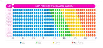 Body Fat Chart Women Body Fat Percentage Guide Bmicalculators Com