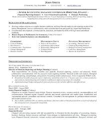 Sample Resume For Accounting Manager Accounting Manager Resume Senior Accounting Manager Resume Sample