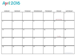 printable calanders free printable 2016 calendars