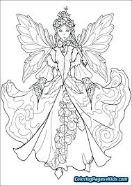 Fairy Printable Coloring Pages Tooth Fairy Coloring Page Fairies