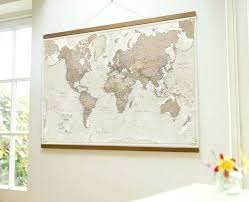 world map wall tapestry ont ideas hanging fabric canvas of grand