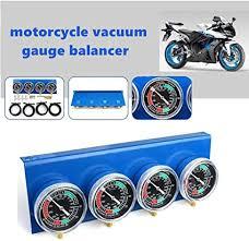 Prokomon Motorcycle <b>Carb Carburettor Synchronizer Vacuum</b> ...