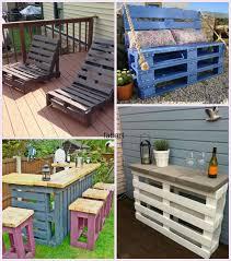 20+ Fabulous DIY Outdoor Pallet Furniture Ideas and Tutorials