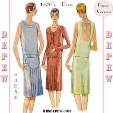 1920 Dress Patterns Awesome Design