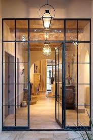 doors glass front full exterior door modern french entry sidelight and