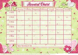 Butterfly Kisses Childs Reward Chart