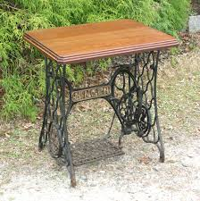 Treadle Sewing Machine Cabinet Popular Items For Sewing Machine Table On Etsy Treadle Tables