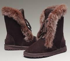 http   www.pickmybestboots.net  UGG Fox Fur Short Boots 3586