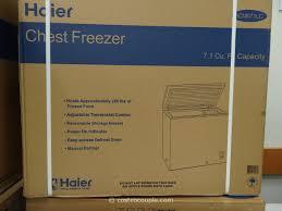 haier 7 1 cu ft chest freezer costco. haier chest freezer costco 3 4 7 1 cu ft .