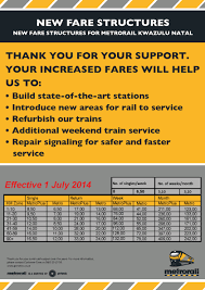 Metro Rail Fare Chart Welcome To Metrorail