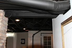 Unique Painted Basement Ceiling Exposed Basement Ceiling Painted - Exposed basement ceiling