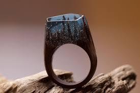 miniature scenes rings secret forest 9