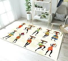 bath african themed area rugs