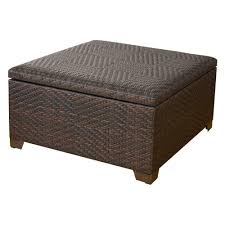full size of coffee tables decor outdoor storage table brown square wicker trunk residential commercial home