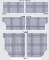 Victoria Palace Seating Chart 62 Explicit Palace Theatre London Layout